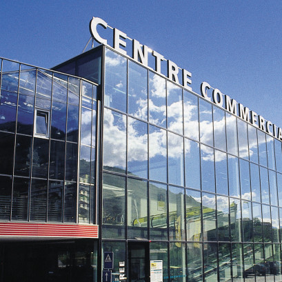 Centre commercial Coop